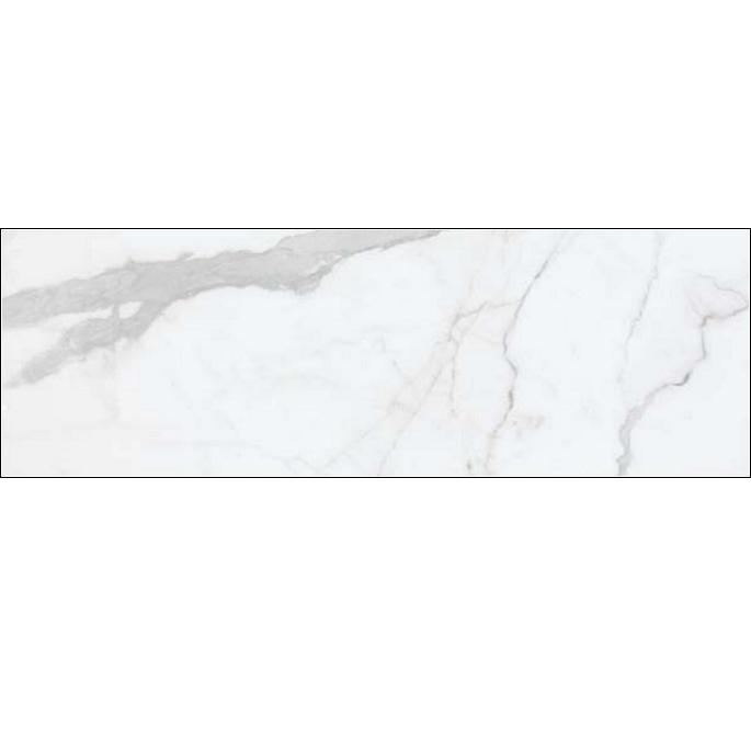 obklad METROPOLITAN-B/40 x 120/R vzhľad mramoru lesklá biela