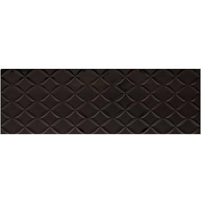 obklad STORM CYCLONE-N 25 x 75 čierna lesklá mriežka
