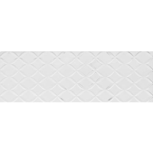 obklad STORM CYCLONE-W 25 x 75 biela lesklá mriežka
