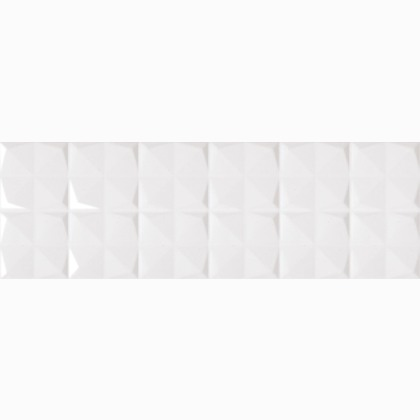 obklad STORM TWISTER-W 25 x 75 biela lesklá štvorec