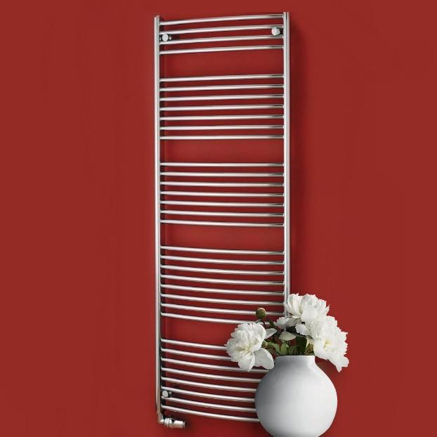P.M.H. Blenheim radiátor kúpeľňový 600 x 1640 mm metalická strieborná MSB8