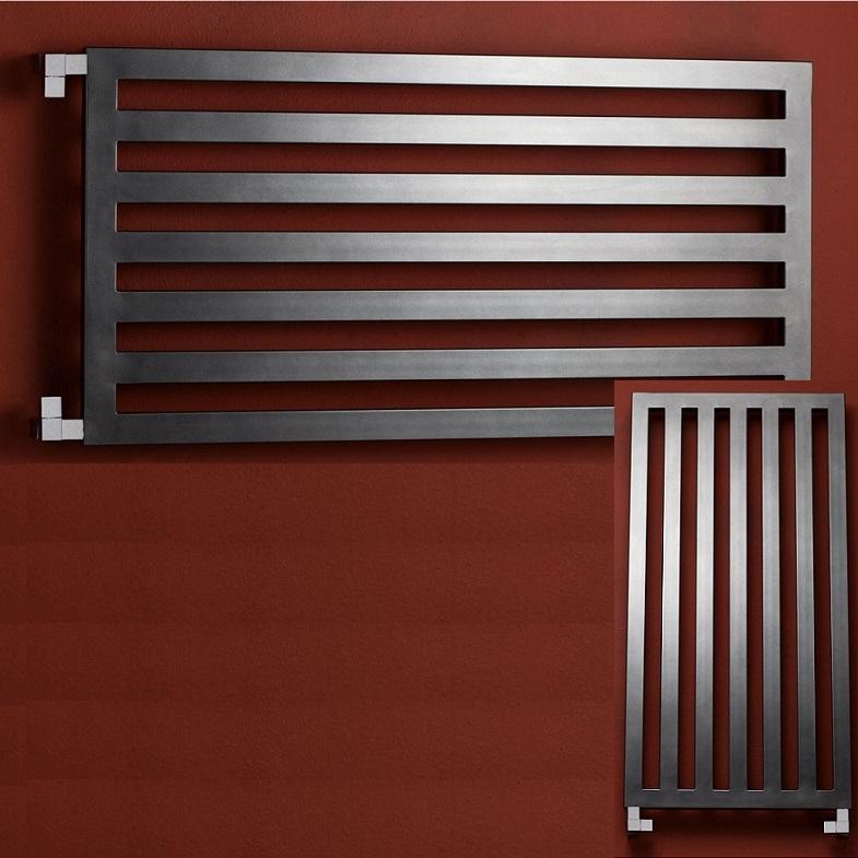 P.M.H. Darius radiátor kúpeľňový 600 x 1200 mm metalická strieborná DA1MS