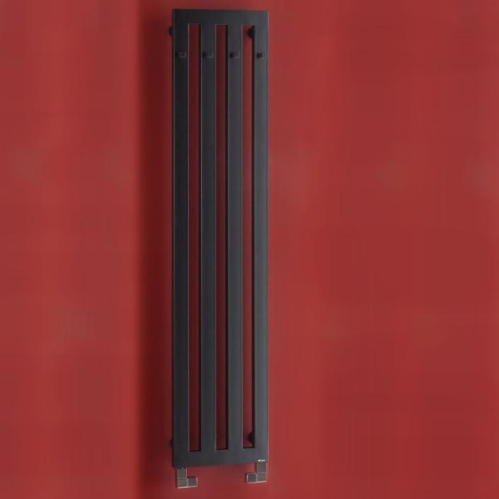 P.M.H. Darius radiátor s vešiačikmi 326 x 1500 mm čierna DAH5B