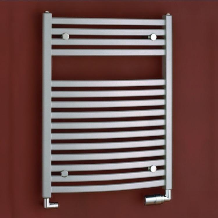 P.M.H. Marabu radiátor kúpeľnový 600 x 783 mm  metalická strieborná M2MS