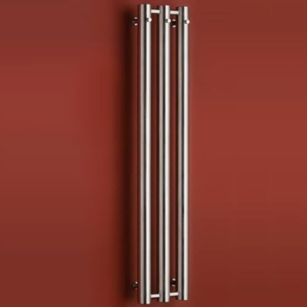 P.M.H. Rosendal Massive radiátor kúpeľňový 292 x 1500 mm kartáčovaný nerez R703SS