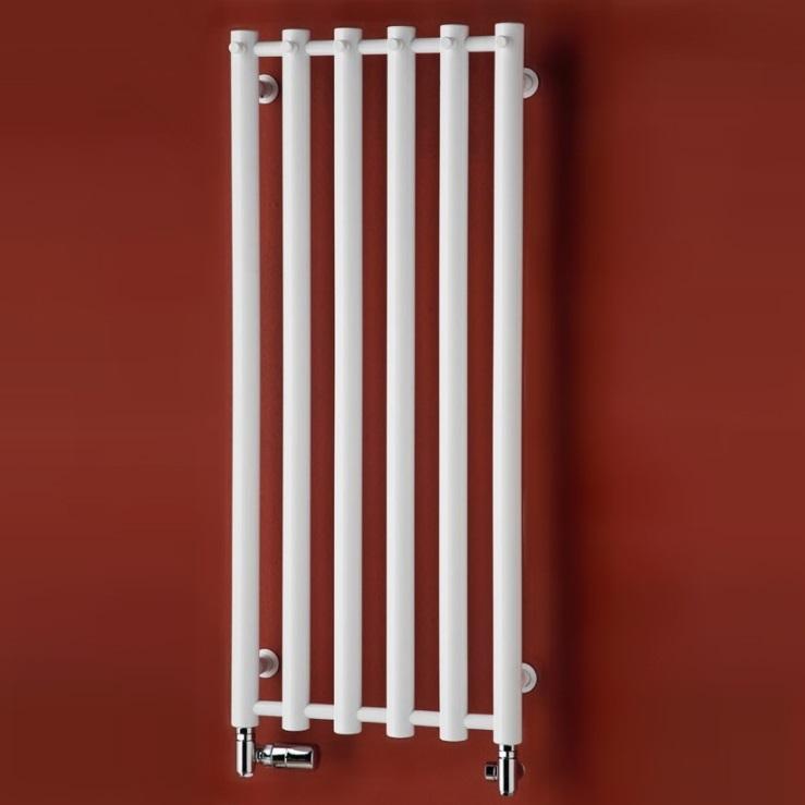 P.M.H. Rosendal radiátor kúpeľňový 420 x 950 mm kartáčovaná nerez R1SS6