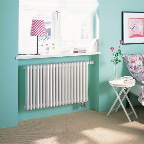 radiátor ZEHNDER Charleston 600 x 1564 x 136 mm spodné pripojenie pravé s int. ventilom biela