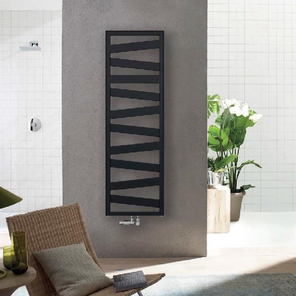 radiátor Zehnder KAZEANE 1266 x 500 prevedenie rovné RAL0557 Black matt