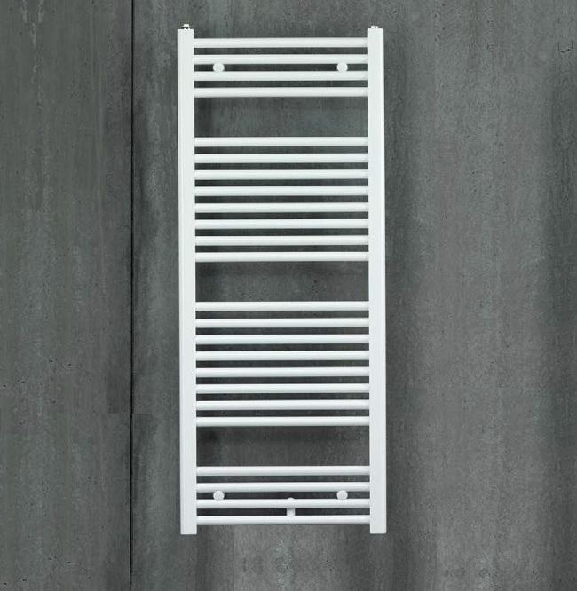 radiátor Zehnder Virando Electric 1276 x 500 mm rovné prevedenie elektr. prevádzka RAL9016 biela