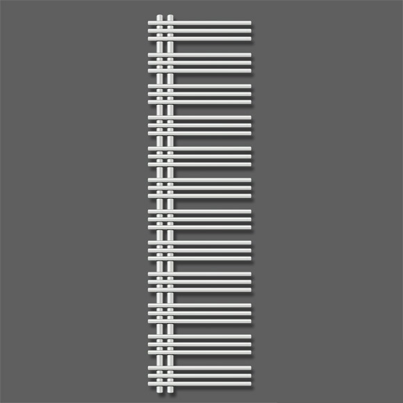 radiátor ZEHNDER YUCCA asymet. 170 x 40 teplovod/kombi chróm