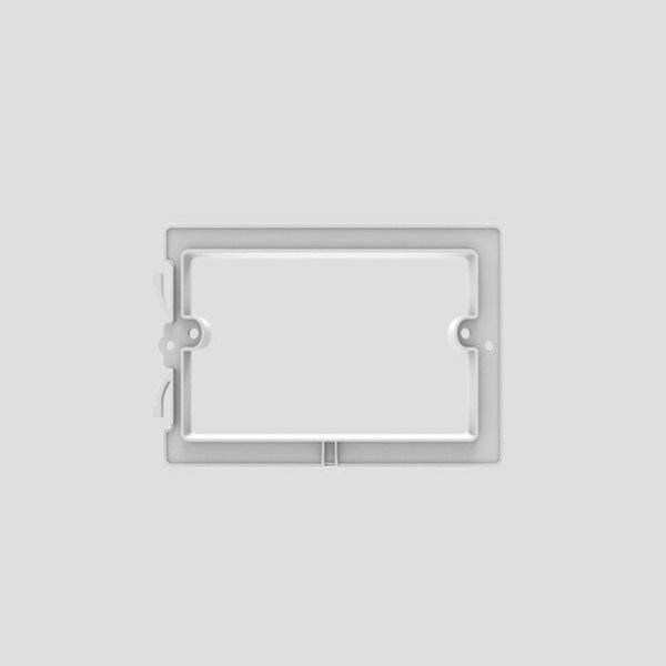 rámik nosný Redonda pre malé WC tlačítko S70x  SANIT ND
