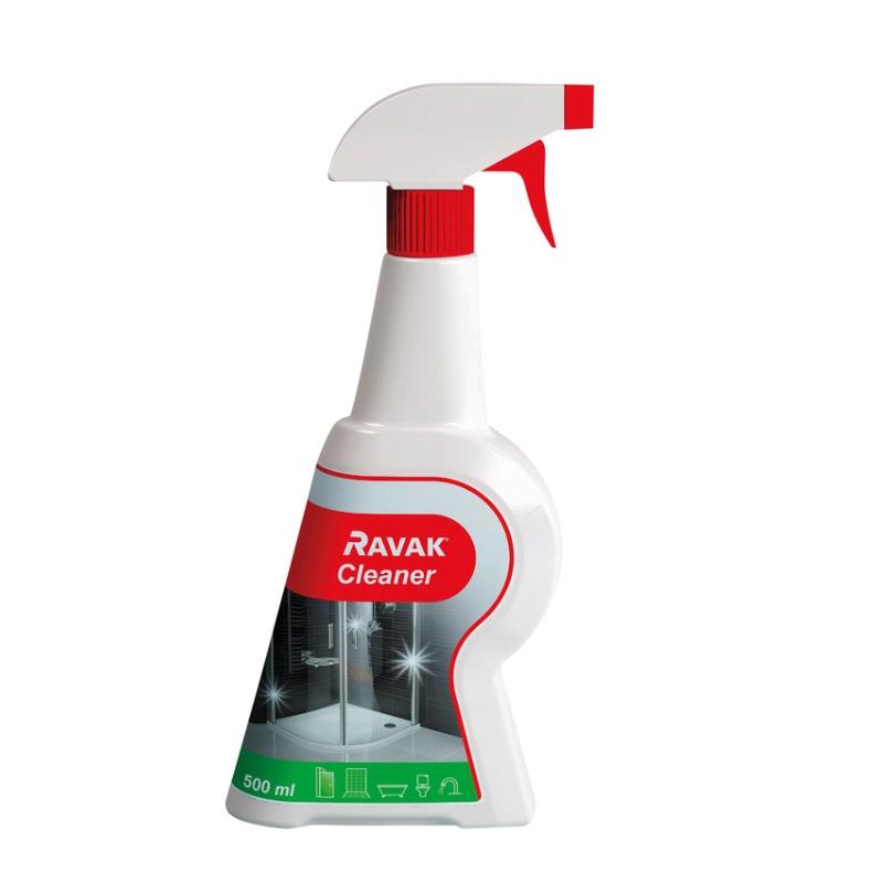 RAVAK Cleaner čistič a odvápňovač na čistenie sanity v kúpeľni,500ml,   X01101