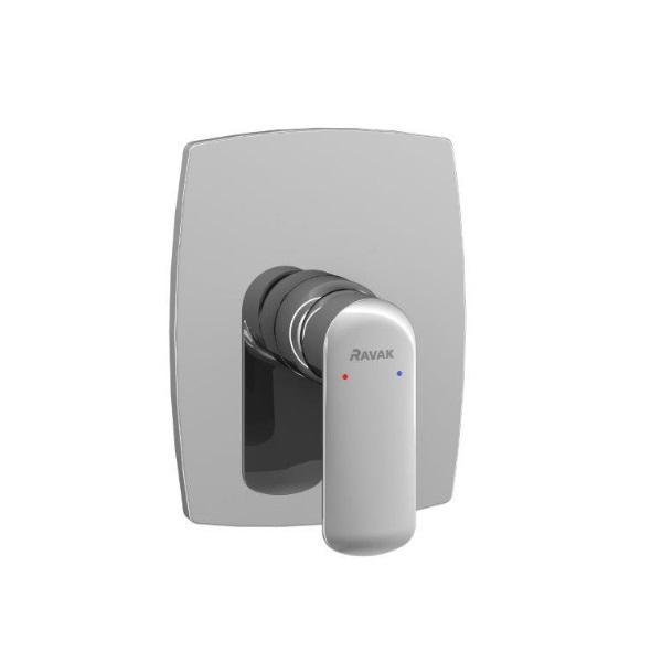 RAVAK Harrs sprchová podomietková batéria bez prepínača  komplet chróm