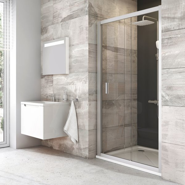 RAVAK Harrs sprchové posuvné dvere 110cm 2-dielne BLDP110BHA