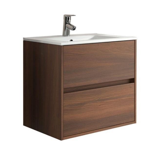 SALGAR Noja skrinka s umýv  60 3 zásuv. hnedá akácia 17032.