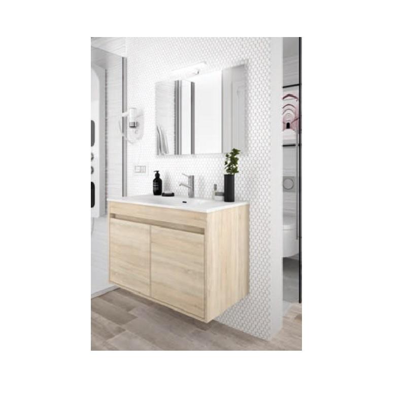 SALGAR Noja skrinka s umývadlom 80 2-dverová dub kaledónia