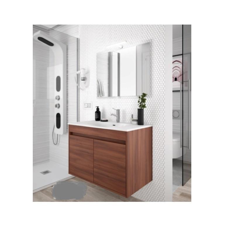 SALGAR Noja skrinka s umývadlom 80 2-dverová hnedá acacia