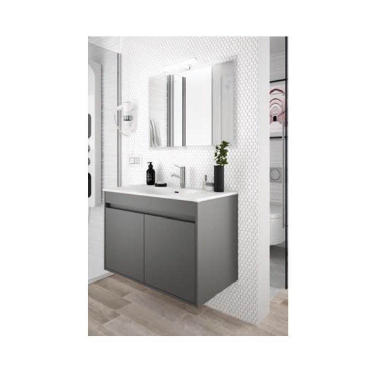 SALGAR Noja skrinka s umývadlom 80 2-dverová matná šedá