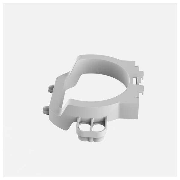 SANIT - držiak vypúšťacieho odtok ventilu INEO na malý revízny otvor ND 04.204.00..0000