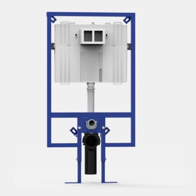 SANIT INEO 80 Plus H118,5 duofix pre WC pod sadrokartón s nádržou len 8cm 9080300