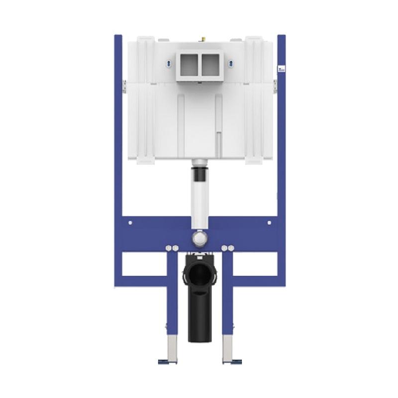 SANIT INEO 80 PLUS H120 duofix pre závesné WC len 8 cm hĺbka 90803000