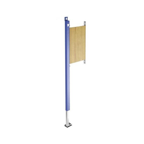 SANIT INEO duofix na madlo Ľavý úchyt pre kombináciu s  WC nádržou