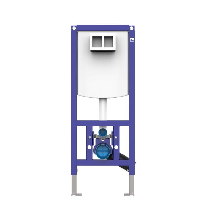 SANIT INEO PLUS 450 duofix pre závesné WC do ľahkých priečok,9073300S