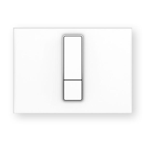 SANIT - ovládacie tlačidlo WC INEO Bright alpská biela, 16.750.01..0000