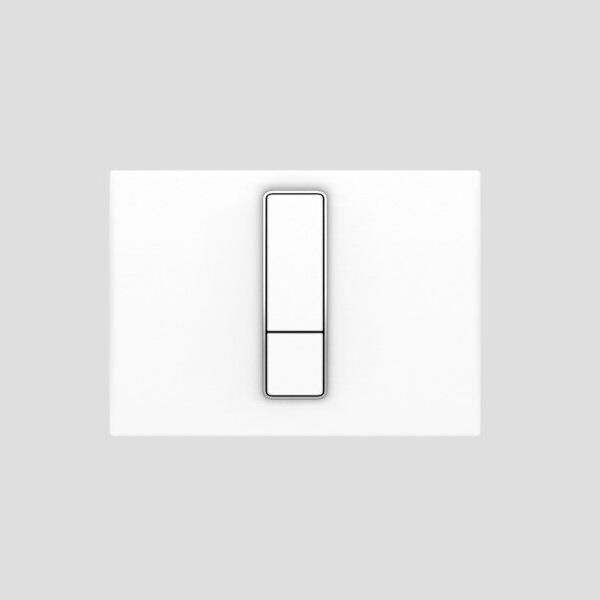 SANIT - ovládacie tlačidlo WC INEO Bright Duroplast alpská biela, 16.751.01..0000