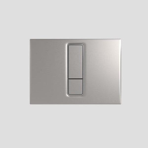 SANIT - ovládacie tlačidlo WC INEO Bright mattný chróm, 16.750.93..0000