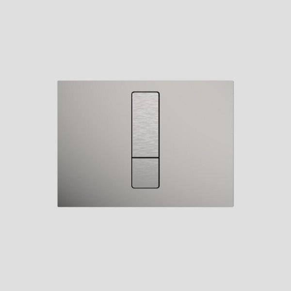 SANIT - ovládacie tlačidlo WC INEO Bright Nerez kartáčovaná, 16.761.00..0000