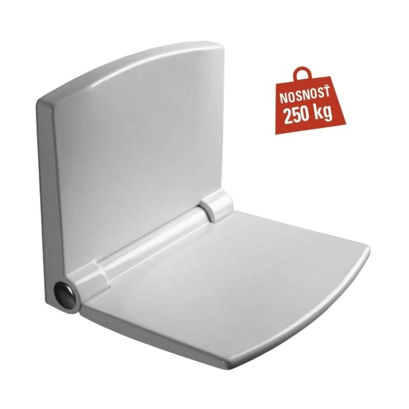 SANIT sedátko do sprchy sklopné LifeStyle biele s nosnosťou max.250 kg