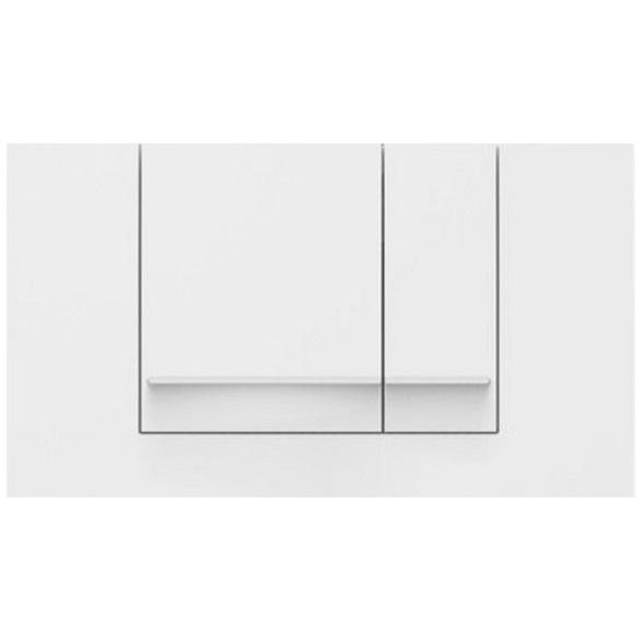 SANIT tlačítko M806 dvojčinné biele 306991