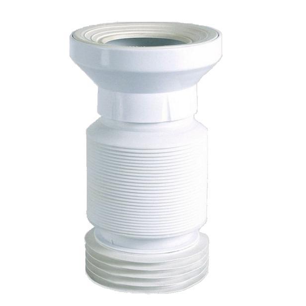 SANIT WC trubka flexibilná DN100 biela
