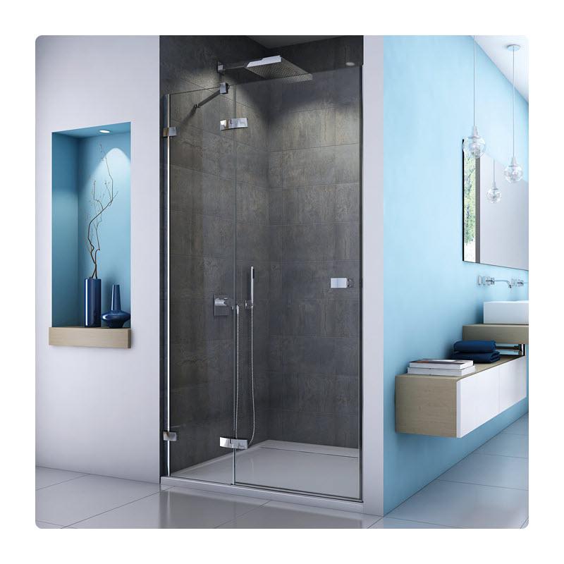 SANSWISS ESCURA ES13 100 dvere sprch.1-krídlové s pevnou stenou v rovine pánty vľavo ES13G1005007