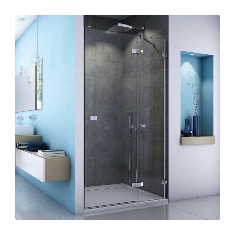 SANSWISS ESCURA ES13 100 dvere sprch.1-krídlové s pevnou stenou v rovine pánty vpravo ES13D1005007