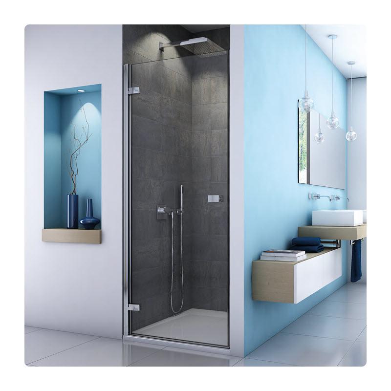 SANSWISS ESCURA ES1C 80 dvere sprch. 1-krídlové pánty vľavo ES1CG0805007