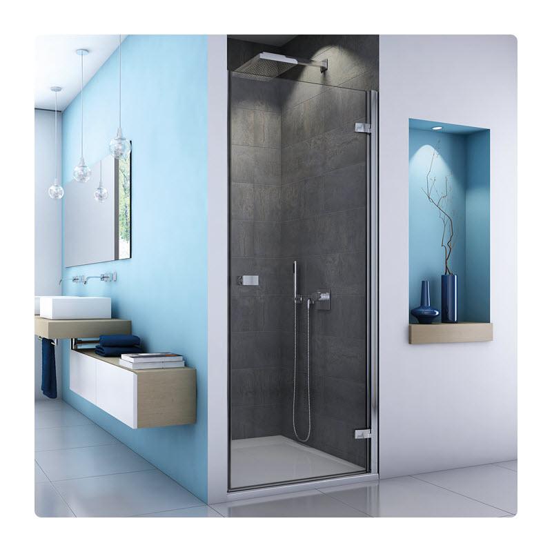 SANSWISS ESCURA ES1C 90 dvere sprch. 1-krídlové pánty vpravo ES1CD0905007