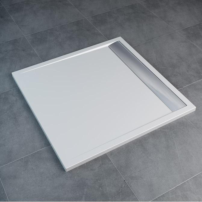 SANSWISS Ila sprchová vanička 100 x 100 cm biela WIQ1005004