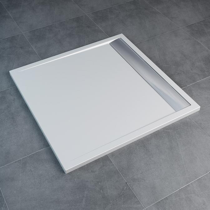 SANSWISS Ila sprchová vanička 90 x 90 cm biela WIQ0905004