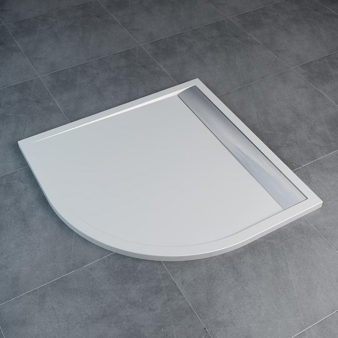 SANSWISS Ila sprchová vanička 90 x 90 cm  biela WIR550905004