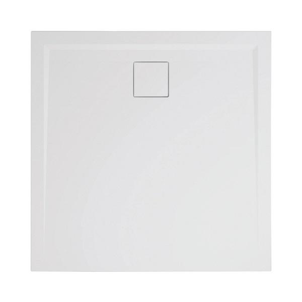 SANSWISS LIVADA sprchová vanička 4-uholník 90 x 90 cm biela W20Q09004