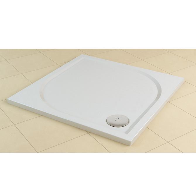 SANSWISS Marblemate sprchová vanička 4-uhol 90 cm biela WMQ090004