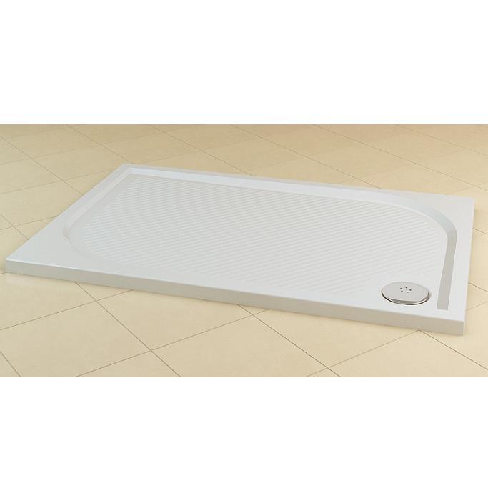 SANSWISS Marblemate sprchová vanička 80 x 100 cm biela WMA8010004