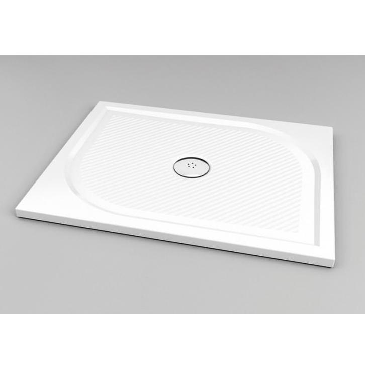 SANSWISS Marblemate sprchová vanička 80 x 140 cm biela WMA8014004