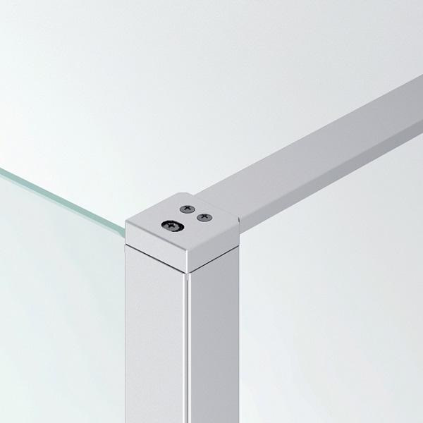 SANSWISS Top-Line stabilizačná vzpera + kotviaci a ukončovací profil aluchróm, BTK1501900