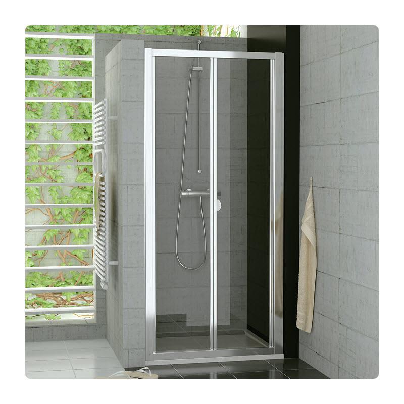 SANSWISS TOP-Line TOPK 100 sprchové dvere zalamovacie TOPK10005007