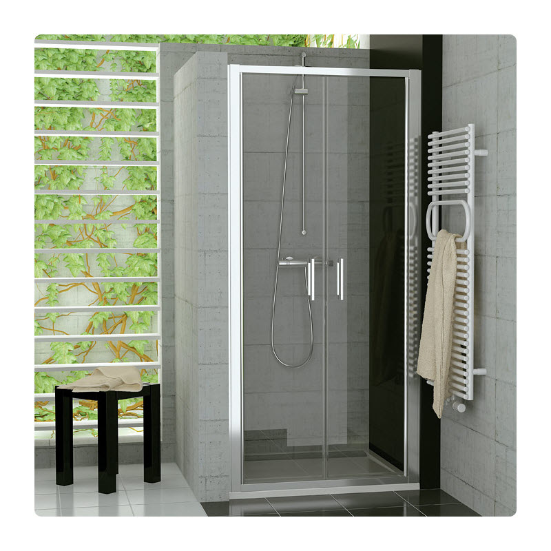 SANSWISS TOP-Line Topp2 80 sprchové dvere 2-krídlové TOPP208005007
