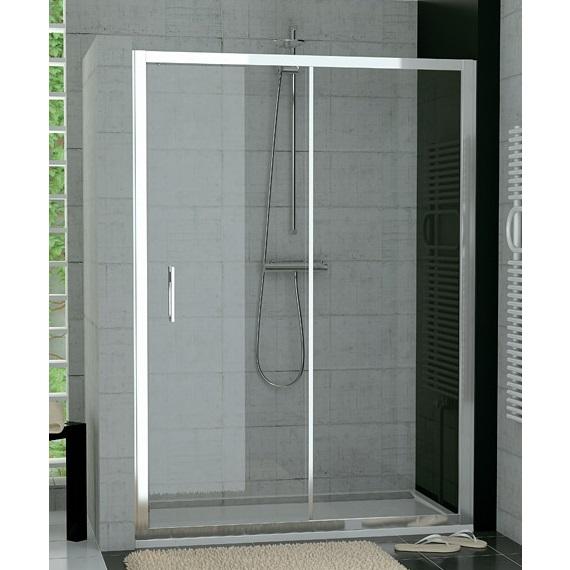 SANSWISS TOP-Line TopS2 140 dvere sprchové 1-dielne posuvné s pevnou stenou TOPS214005007