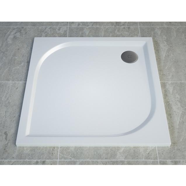 SANSWISS Tracy sprchová vanička 100 x 100 cm biela WAQ100004